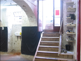 Eingangsbereich der Kampfkunst-Schule Nord Shaolin Kung Fu Wien