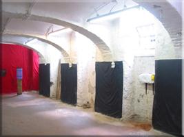 Traingsraum der Kampfkunst-Schule Nord Shaolin Kung Fu Wien