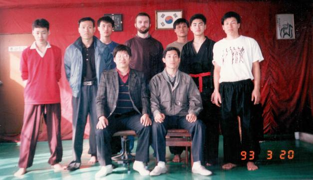 In der Schule von Meister Lee Je Dong in Seoul